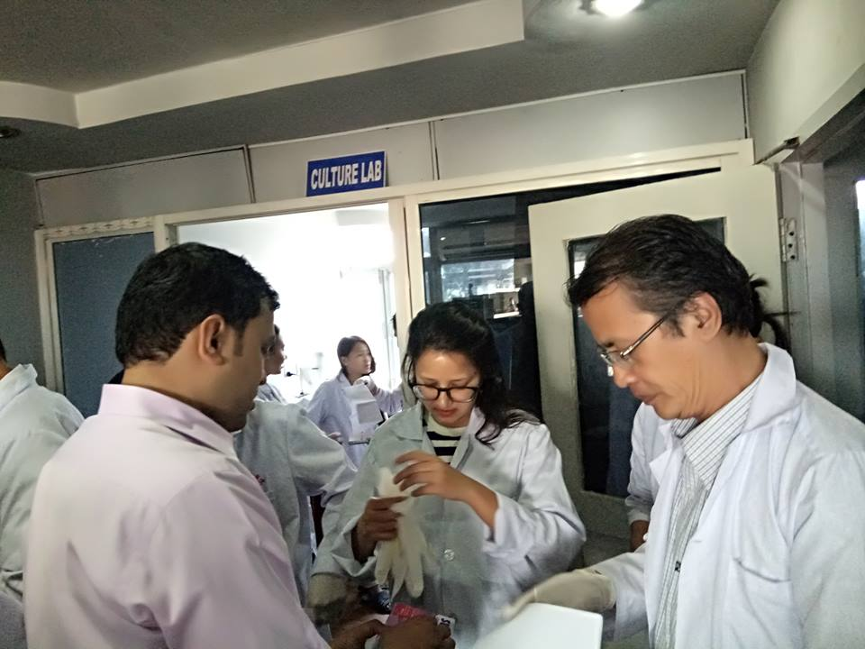 BSN Organized Meeting With ICGEB Team For Nepal Membership.  Copy